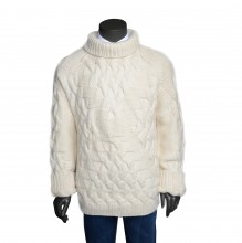 Cashmere Pullover weiss
