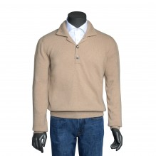Cashmere Pullover camel