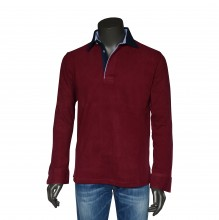 Polo Pullover bordeaux